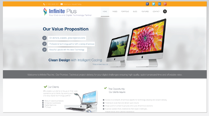 Infinite Plus Web Development